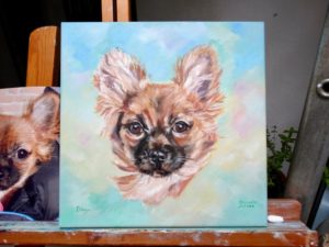 huisdier portret laten maken